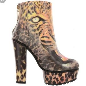 Iron Fist Don't Pssy Foot Leopard Bootie